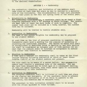 Delta Kappa Phi constitution