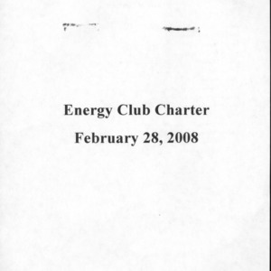 Energy Club constitution