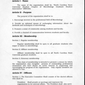 Microbiology GSA constitution