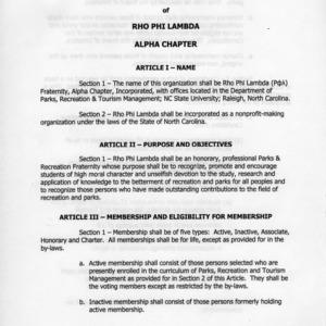 Rho Phi Lambda constitution