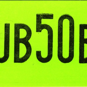 QSL Card from UB50B, Moscow, USSR, to W4ATC, NC State Student Amateur Radio