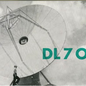 QSL Card from DL7OY, Berlin, Germany, to W4ATC, NC State Student Amateur Radio