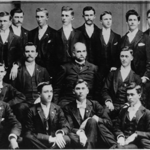 Class of 1893 group portrait
