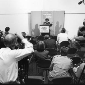 US Surgeon General Joycelyn Elders at the 1994 Emerging Issues Forum