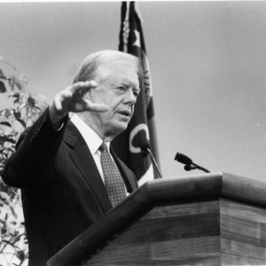 Jimmy Carter at the 1991 Emerging Issues Forum
