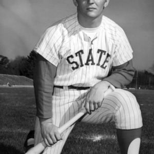 Mike Mallan, catcher for North Carolina State