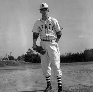 Wolfpack Baseball Player Jim Overby