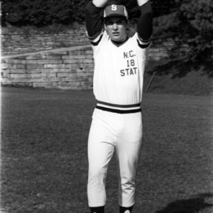Wolfpack Baseball Player Curt Ramsey