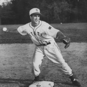 Wolfpack Baseball Player