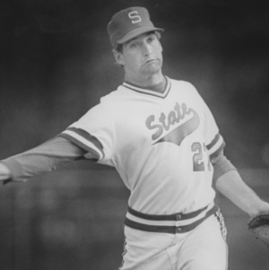 Wolfpack Baseball Player David Hall