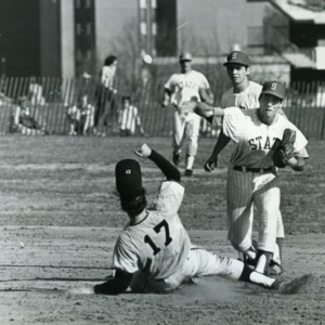 Baseball game between North Carolina State University and Duke University
