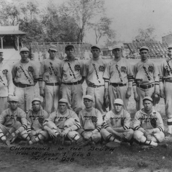Champions of the South: North Carolina College of Agriculture and Mechanic Arts' 1910 baseball team