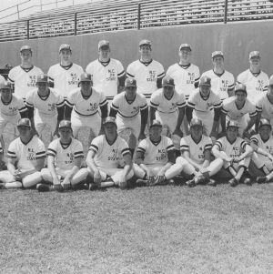 North Carolina State College baseball team, 1974