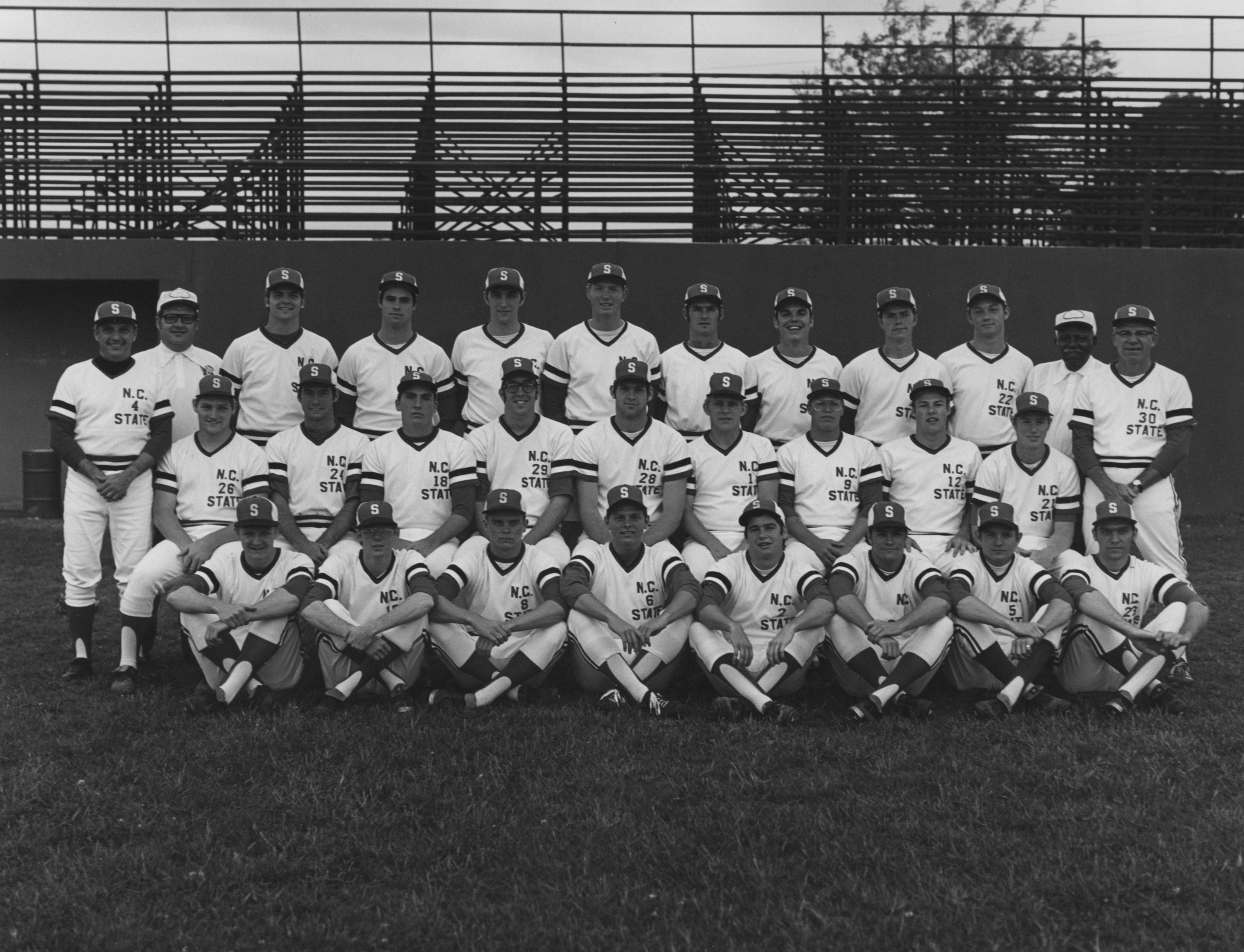 North Carolina State College baseball team, 1973