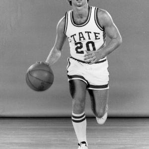 Basketball player Craig Davis