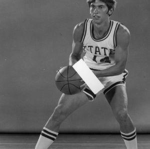 Basketball player Bruce Dayhuff