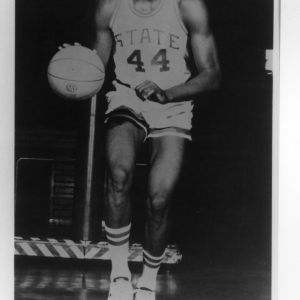 Basketball player David Thompson