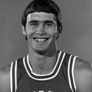 Basketball player Brian Walker