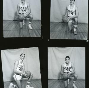 Basketball players' portraits