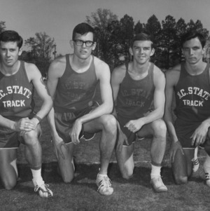 Track and field team group photo