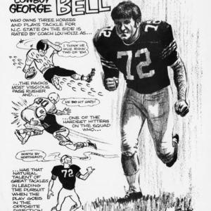 Cowboy George Bell cartoon profile