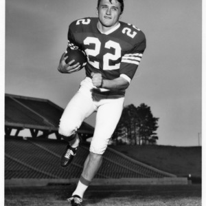 Don Bradley, North Carolina State halfback, 1969-1970