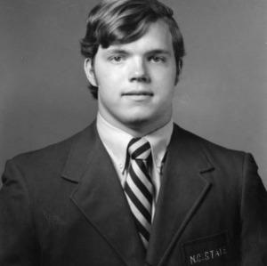 Bob Brooks, North Carolina State middle guard and defensive tackle, 1970-1971