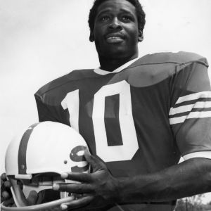 Willie Burden, North Carolina State running back, 1971-1973
