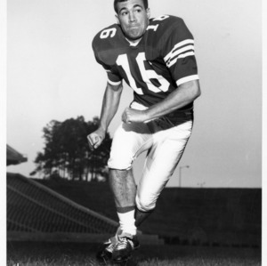 Pete Burgess, North Carolina State halfback, 1968
