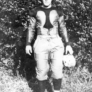 "John Thomas ""Runt"" Faucette, North Carolina State quarterback and team captain, 1919-1921"