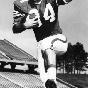 Bobby Hall, North Carolina State freshman team running back, 1966-1968