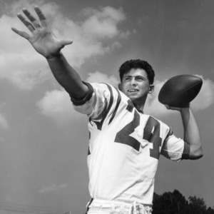 Abby Mauro, North Carolina State quarterback, 1962