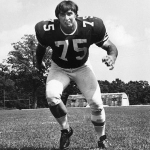 Dan Medlin, North Carolina State defensive tackle, 1969-1971