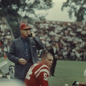Head Coach, Earle Edwards, N. C. State