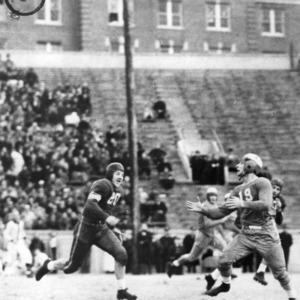 N. C. State and Duke football game at Riddick Stadium