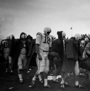 Wolfpack Football Team at University of Wyoming, September 1961