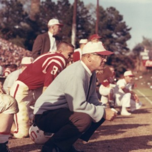 Coach Earle Edwards at the Sidelines
