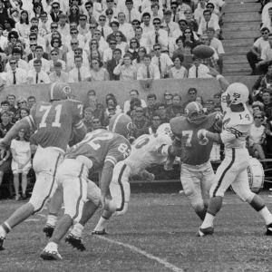 Wolfpack Football, N. C. State vs. Carolina, 1968