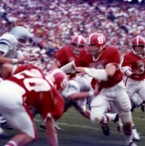 N. C. State and Duke football game