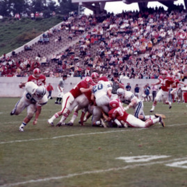 N. C. State and Duke football game