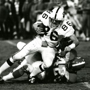 N. C. State and West Virginia at 1972 Peach Bowl