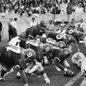 N. C. State and University of Maryland football game