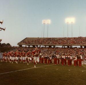 N. C. State football game