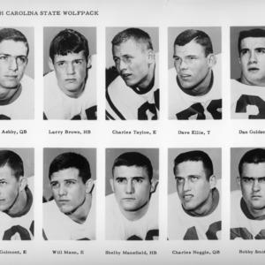Football players' portraits