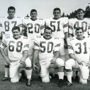 N. C. State football team group photograph