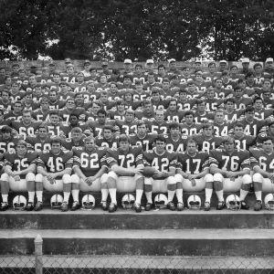 North Carolina State University Football Team group photograph