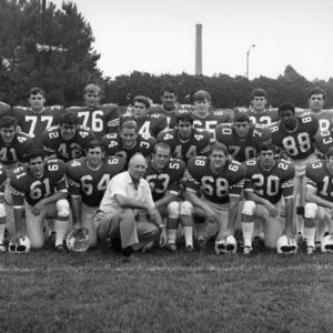 North Carolina State University Varsity Football Team group photograph