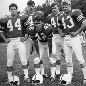 North Carolina State University Varsity Football players