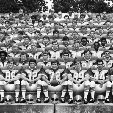 North Carolina State University Varsity Football Team group photograph