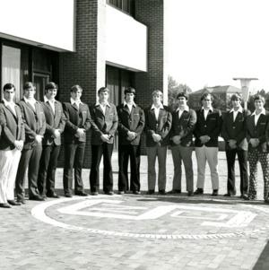 Football players group photo